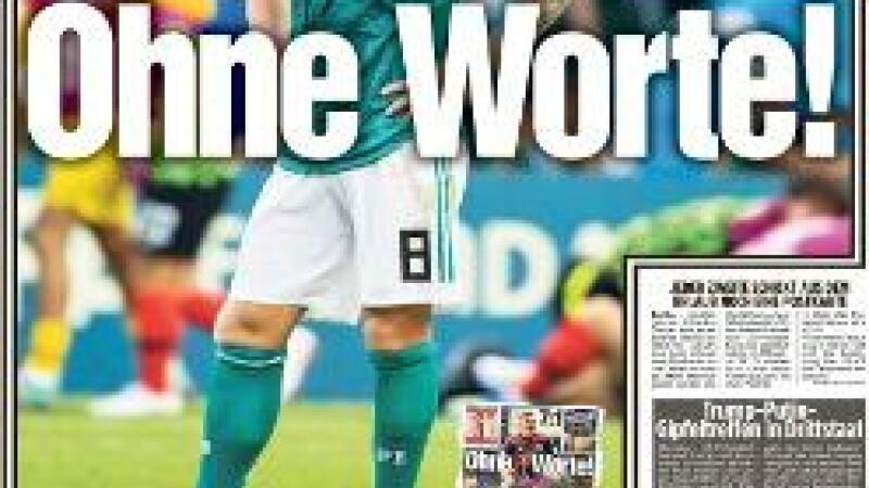 Cele mai bune glume și reacții după eliminarea Germaniei de la Cupa Mondială 2018
