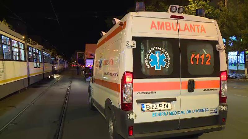 Traficul tramvaielor, blocat pe Șoseaua Colentina din Capitală, din cauza unui accident