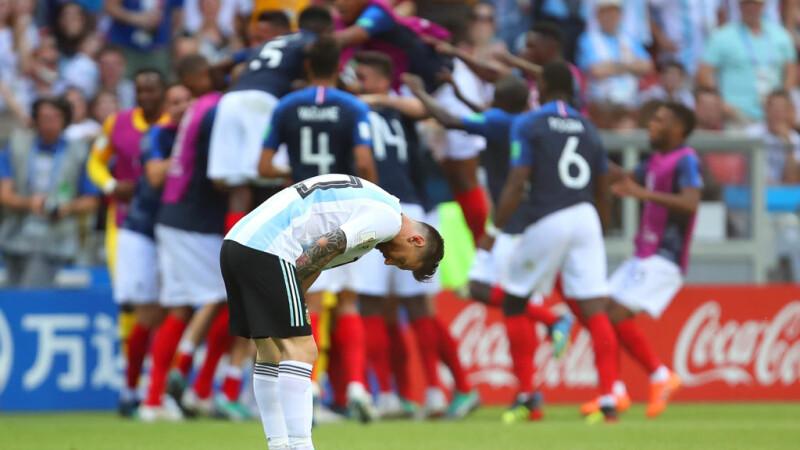 Franța a eliminat Argentina de la Cupa Mondială. Răsturnări de scor spectaculoase