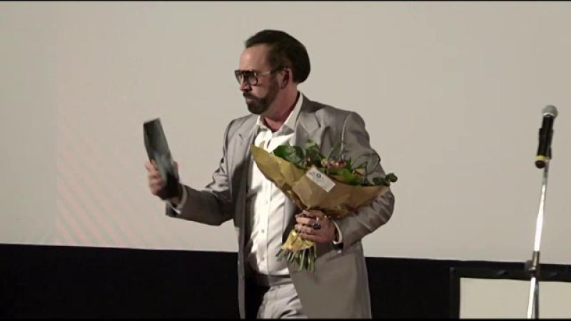 """Nicolas Cage, premiat la TIFF: """"În România, am simţit un spirit foarte bun"""""""