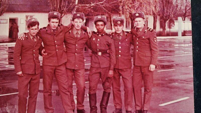 Militarul rus de culoare care a participat la operaţiunile de decontaminare la Cernobîl - 7