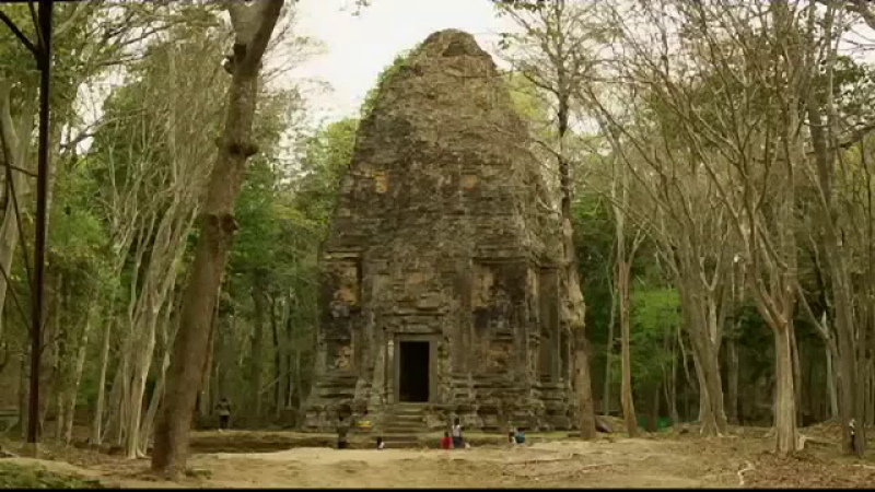 Orașul antic, scos la suprafață de tehnologie. A stat ascuns în junglă timp de două secole