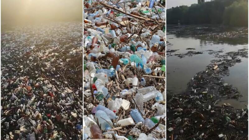 Deșeuri s-au strâns la Galați, după inundații