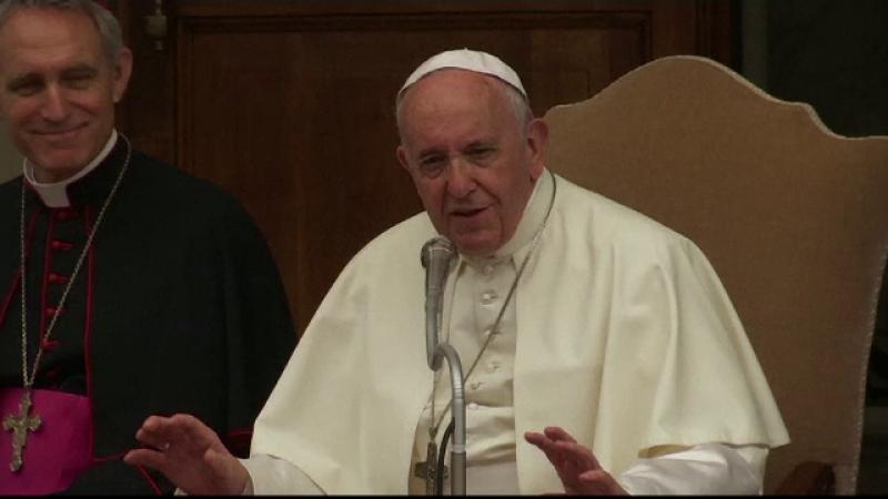 Papa Francisc a primit 400 de copii la Vatican