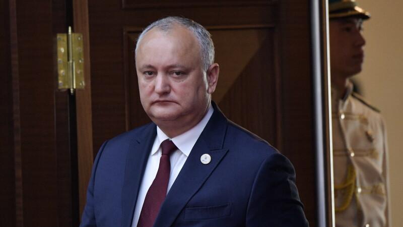 Igor Dodon, președintele suspendat al Republicii Moldova