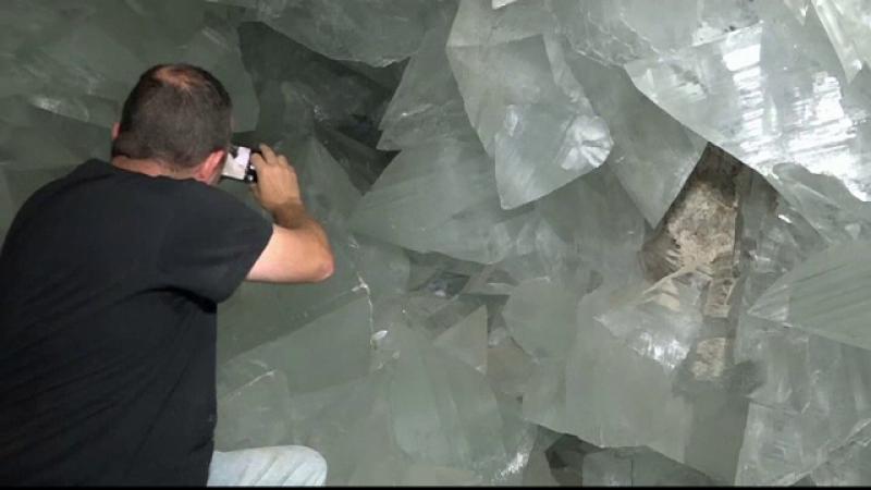 peșteră cristale, Spania