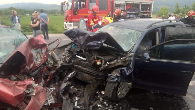 Accident grav in Hunedoara - 2