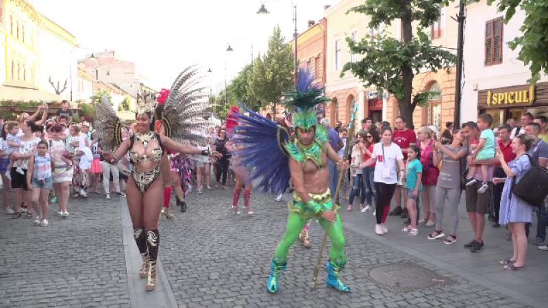 Festival pe străzile din Sibiu. Peste 3.300 de artiști vor face spectacol timp de 10 zile