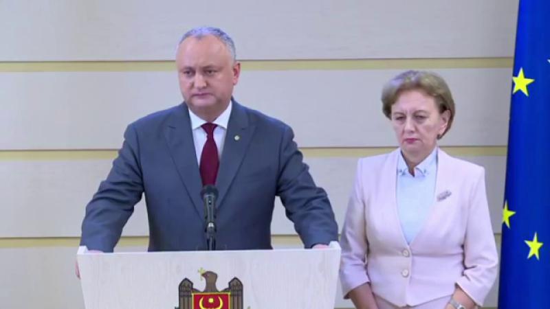 Republica Moldova, Igor Dodon