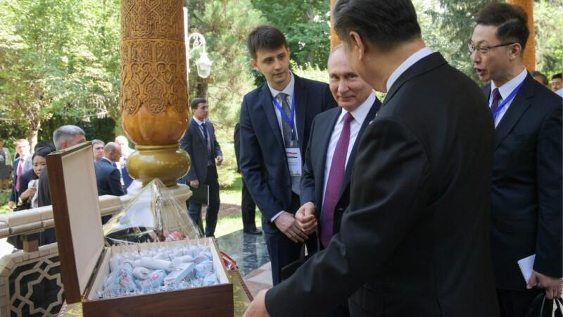 Xi Jinping si Vladimir Putin