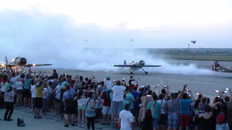 Spectacol aviatic la Timisoara