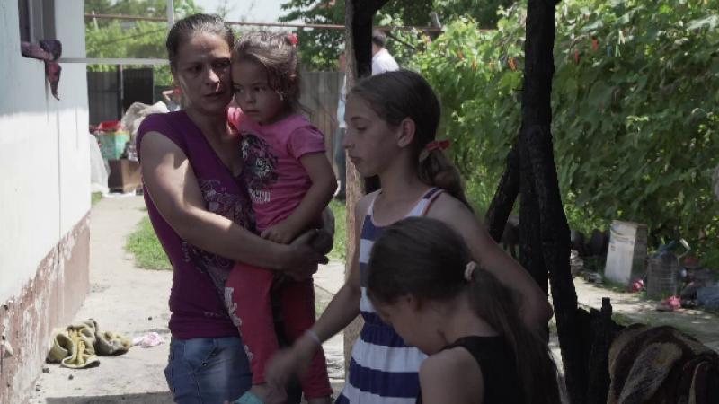 5 frați rămași fără casă, distrusă de un incendiu