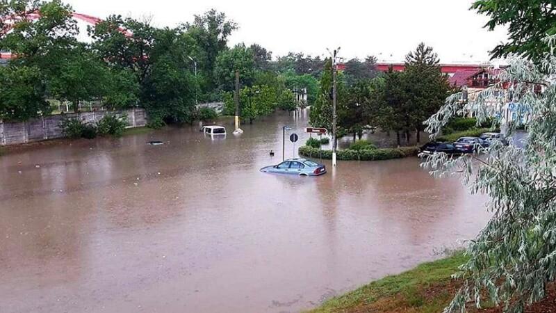 Inundații in Cernavoda - 3