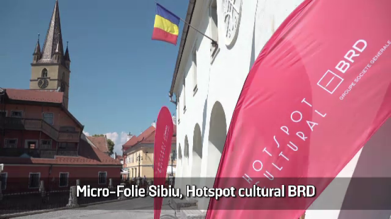 (P) Micro-Folie Sibiu, Hotspot cultural BRD