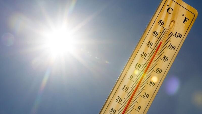 Val de căldură intensă în Europa