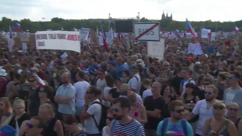 Protest de amploare în Cehia