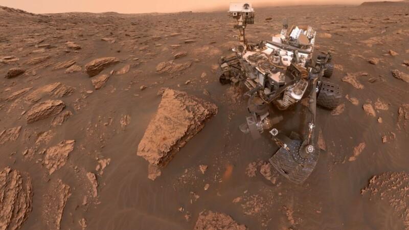 """Descoperirea făcută de NASA pe Marte. Sugerează că """"a existat recent viață extraterestră"""""""