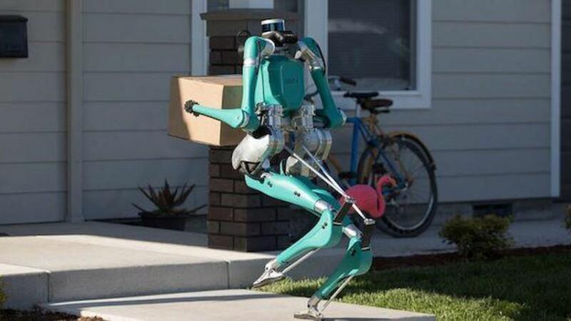 Robot de livrări, făcut de Ford