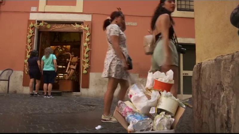 roma, gunoaie strazi