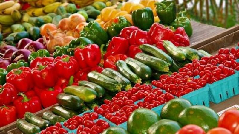 Legume, fructe, piata