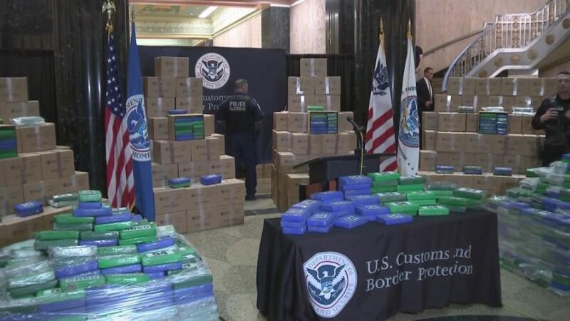 Captură uriașă de cocaină în SUA