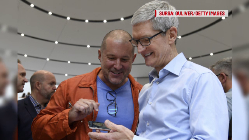 jony ive si tim cook