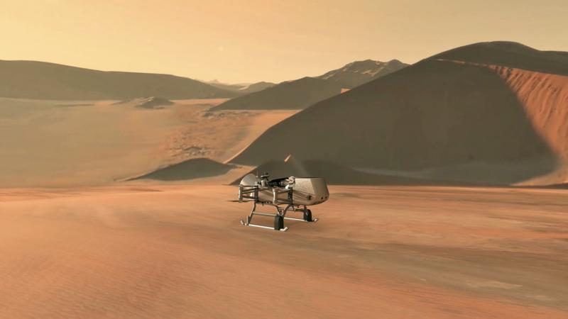 NASA trimite o misiune pe Saturn