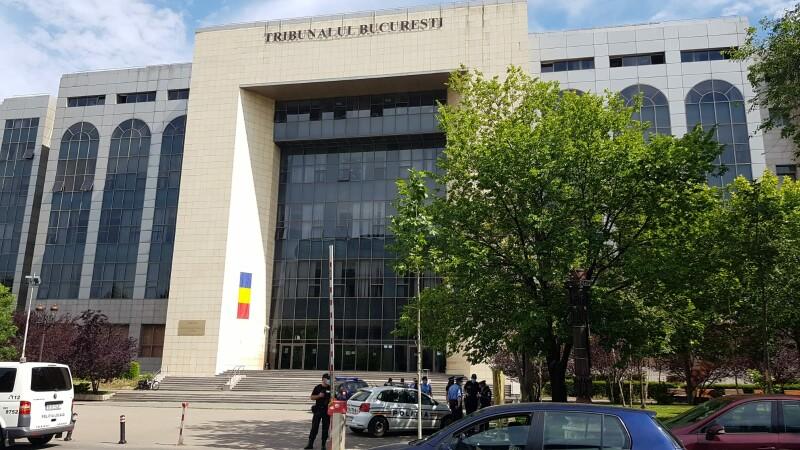 bomba tribunalul bucuresti