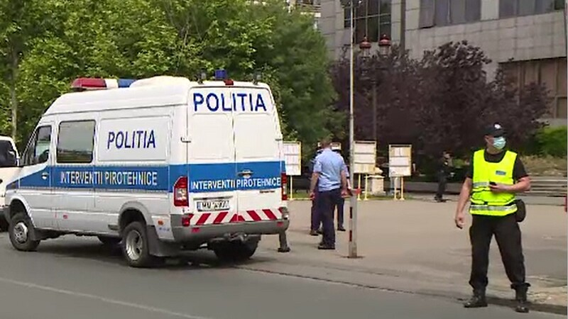 Amenințare cu bombă la Tribunalul București