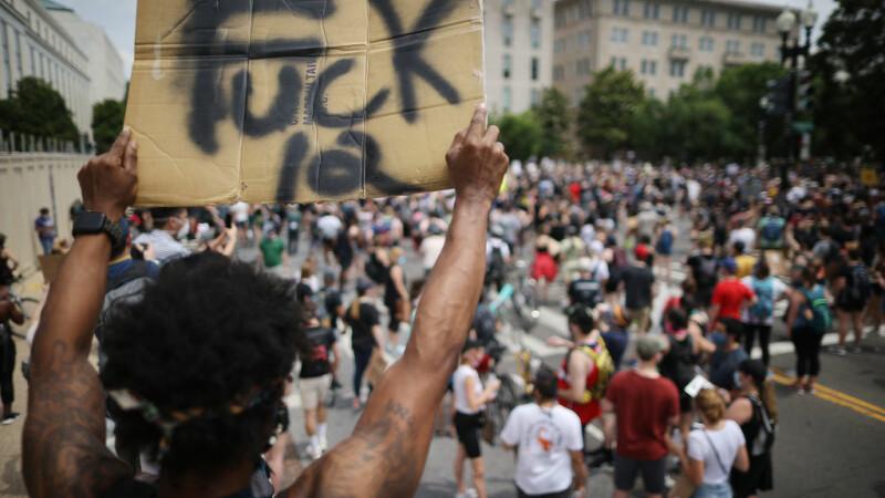 Proteste în masă în SUA împotriva rasismului - 6