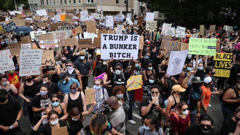 Proteste în masă în SUA împotriva rasismului - 11