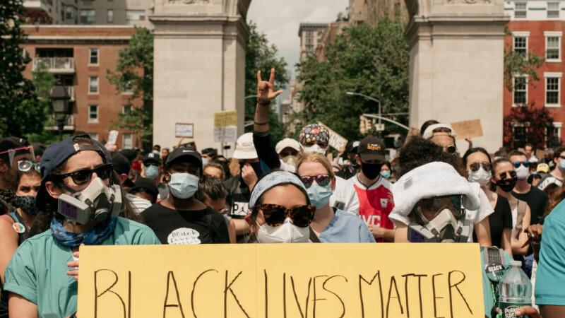 Proteste împotriva rasismului la New York - 4
