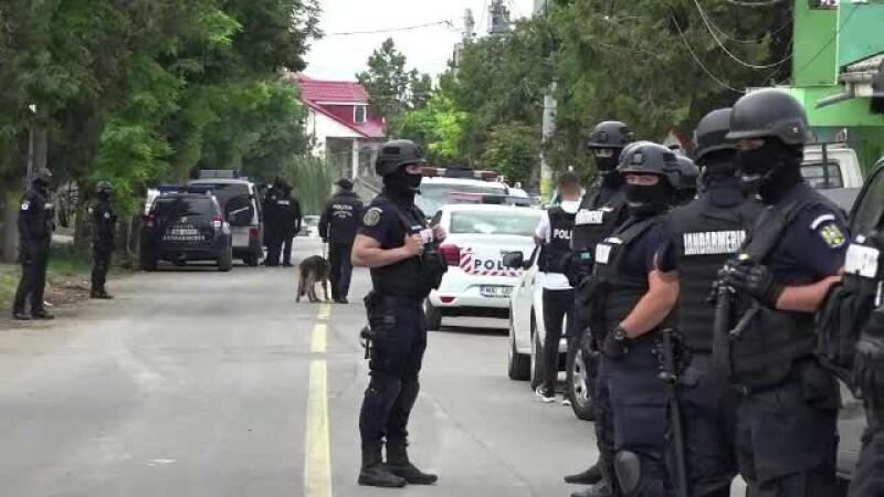 Orașul vasluian Murgeni a fost sub asediu. Sute de forțe speciale au descins peste suspecți