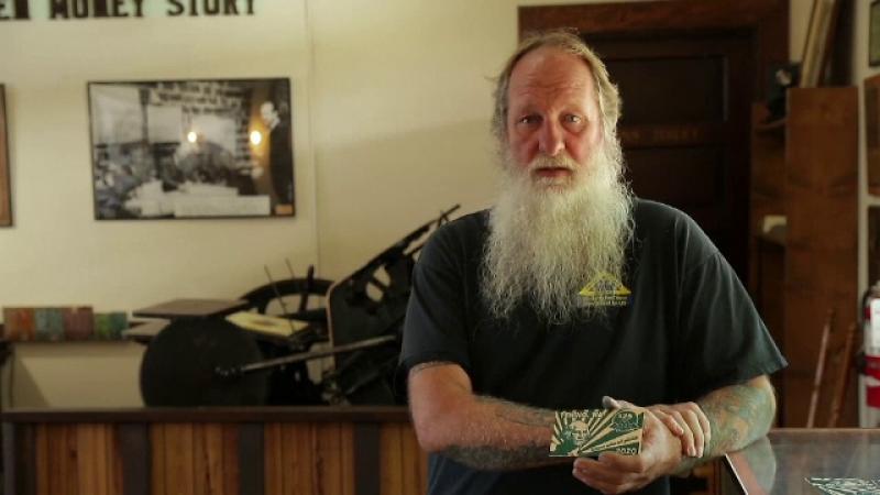Bancnote din lemn, folosite într-un oraș american. Ce valoare au