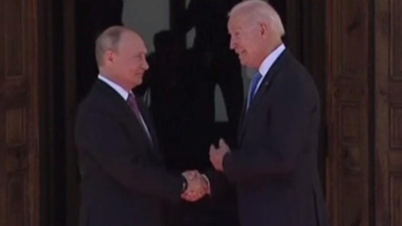 Putin Biden gesturi