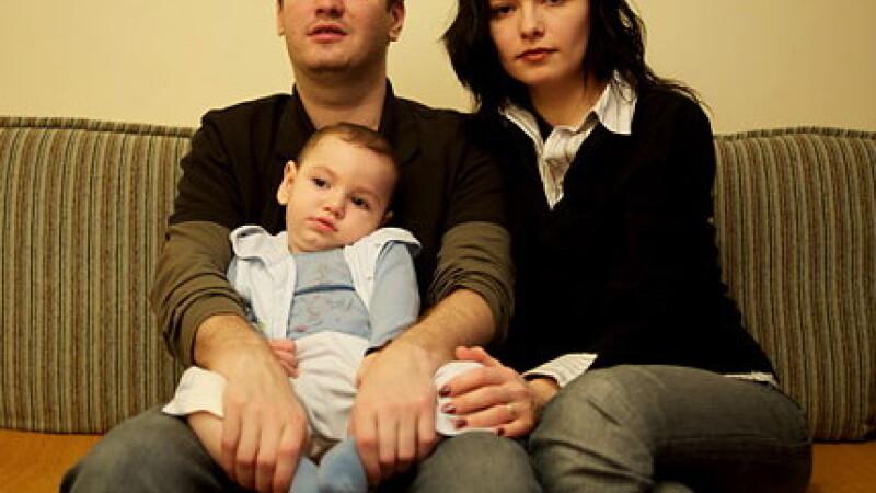Alina Lungu si familia sa