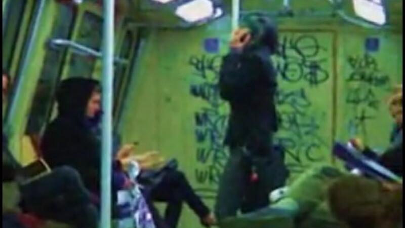 Porcaiala la metrou