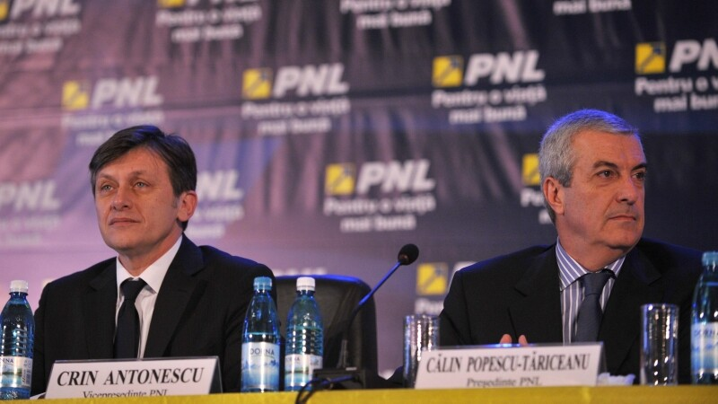 Crin Antonescu si Calin Popescu Tariceanu