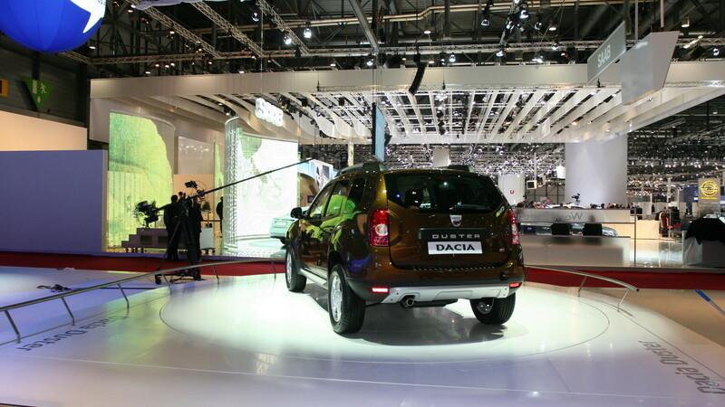 Dacia Duster la Salonul Auto de la Geneva