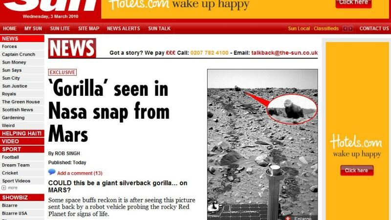 Gorila pe Marte