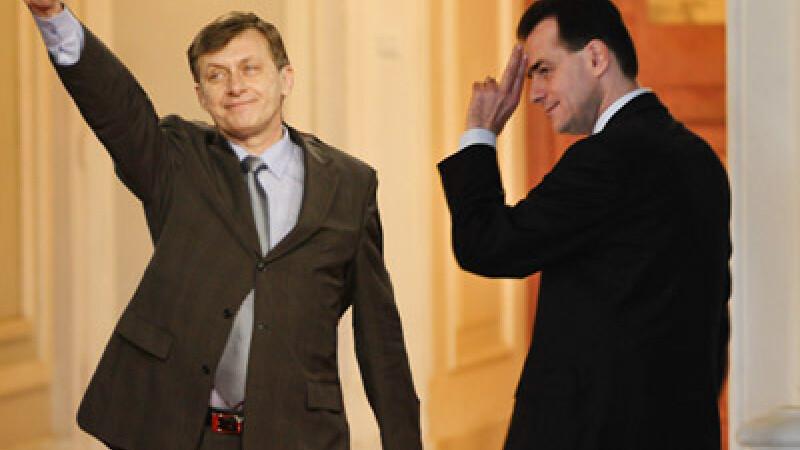 Crin Antonescu Ludovic Orban