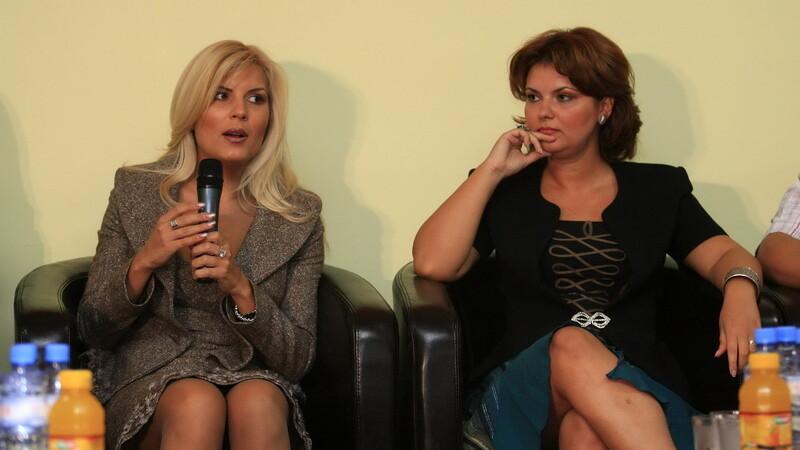 Elena Udrea si Lia Olguta Vasilescu