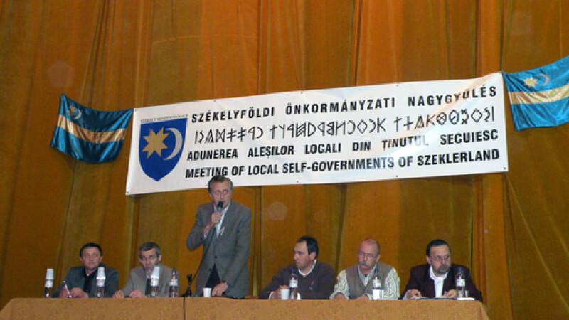 Adunare alesi locali Tinutul Secuiesc