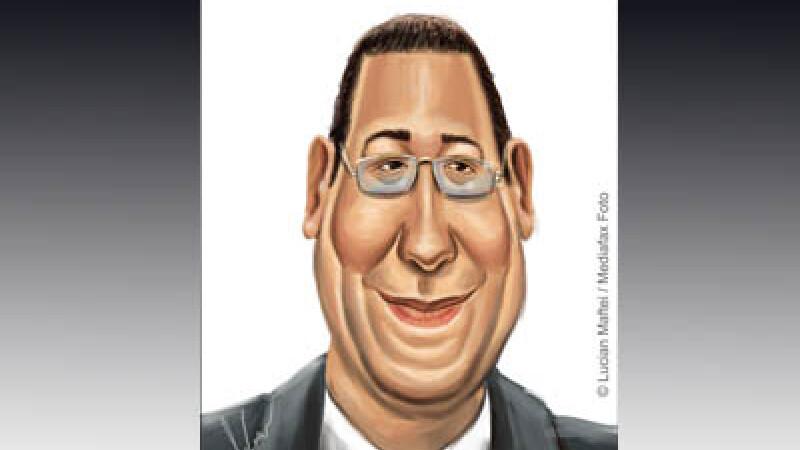 Victor Ponta caricatura
