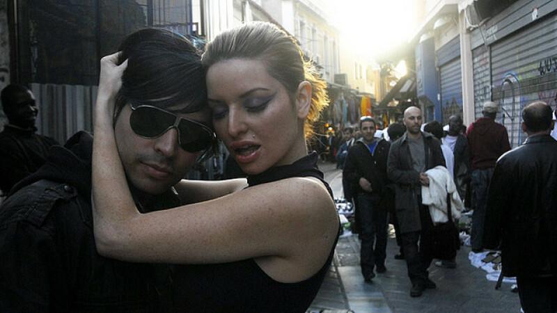 flirt la Atena, cuplu
