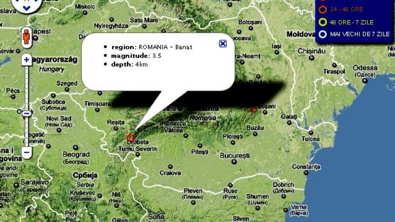 Cutremur in Banat