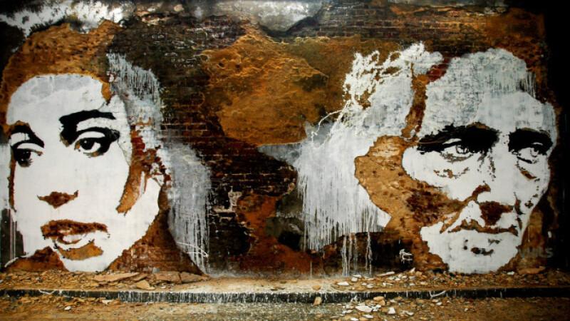Arta cu dinamita. Sculptorul care da viata peretilor morti