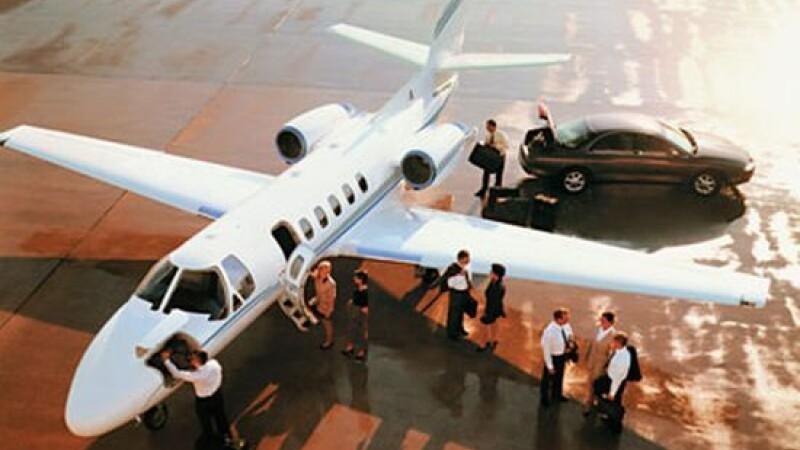 Private jet, avion privat