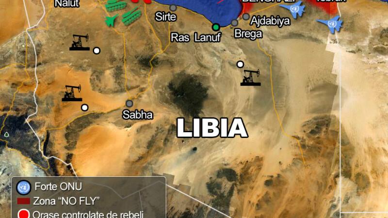 ONU ataca Libia