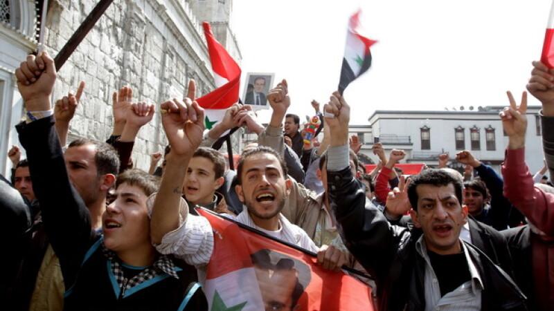 Proteste de strada in Siria